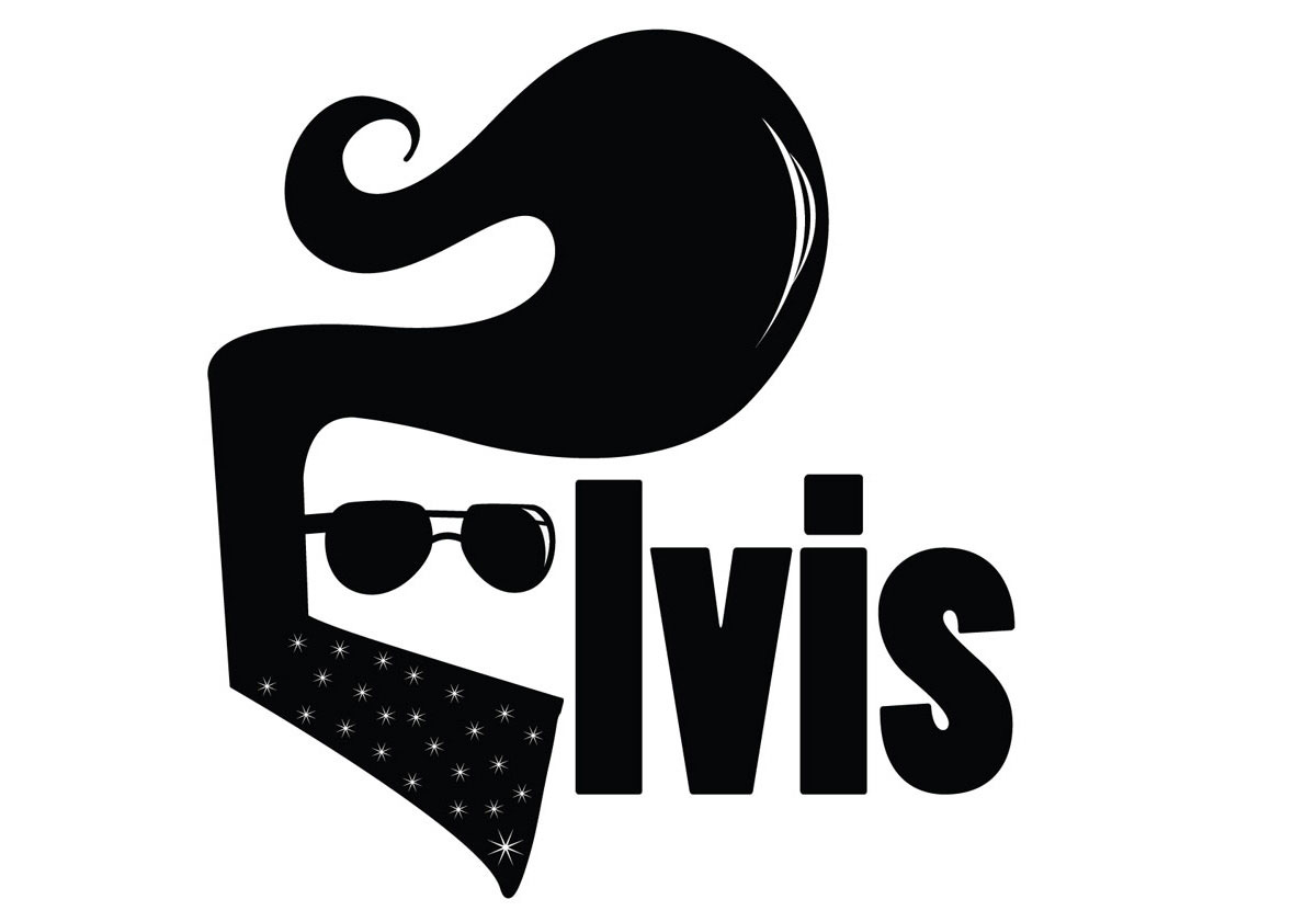 The gallery for elvis silhouette clip art for Logo clipart