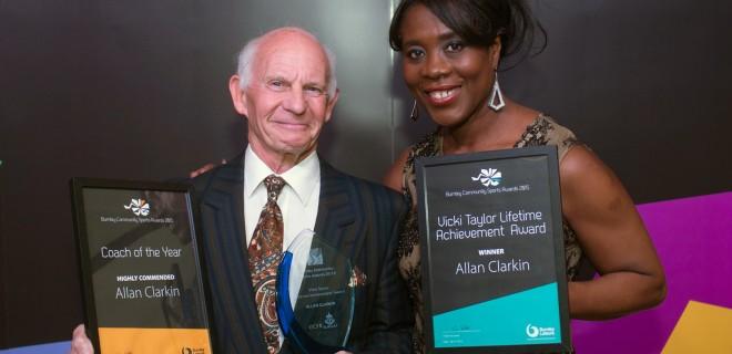 award winner and a sporting hero